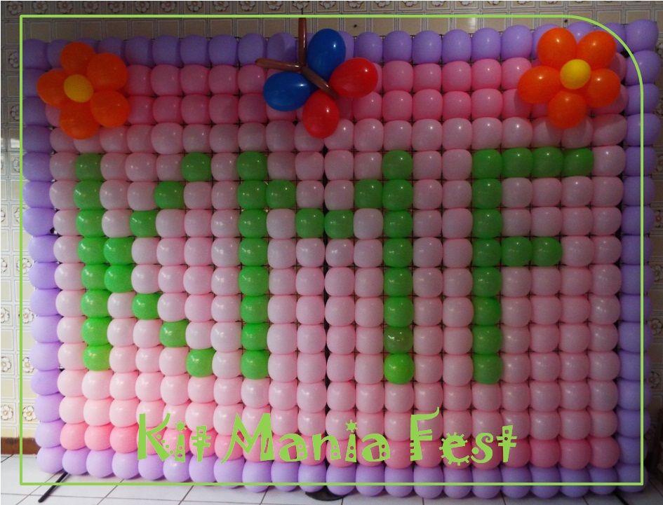 Decoração com Painel Tela de balões. Você encontrar na Kit Mania Fest.  Site/blog:  http://kitmaniafest.blogspot.com.br Orçamento através do nosso e-mail: kitmaniafest@yahoo.com.br Recife PE