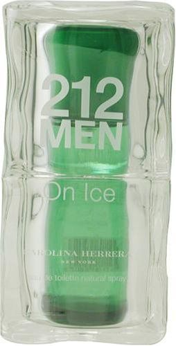 212 On Ice By Carolina Herrera For Men Eau De Toilette Spray 33 Oz