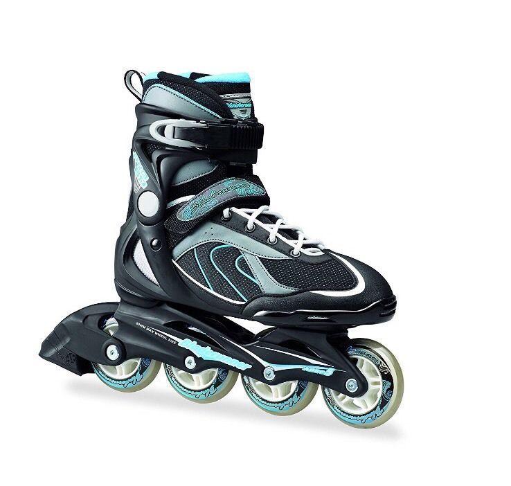 Bladerunner Size 5 Pro 80 Skate (Black/Light Blue) 5 UK 38 EU   Sporting Goods, Inline & Roller Skating, Roller Skating   eBay!