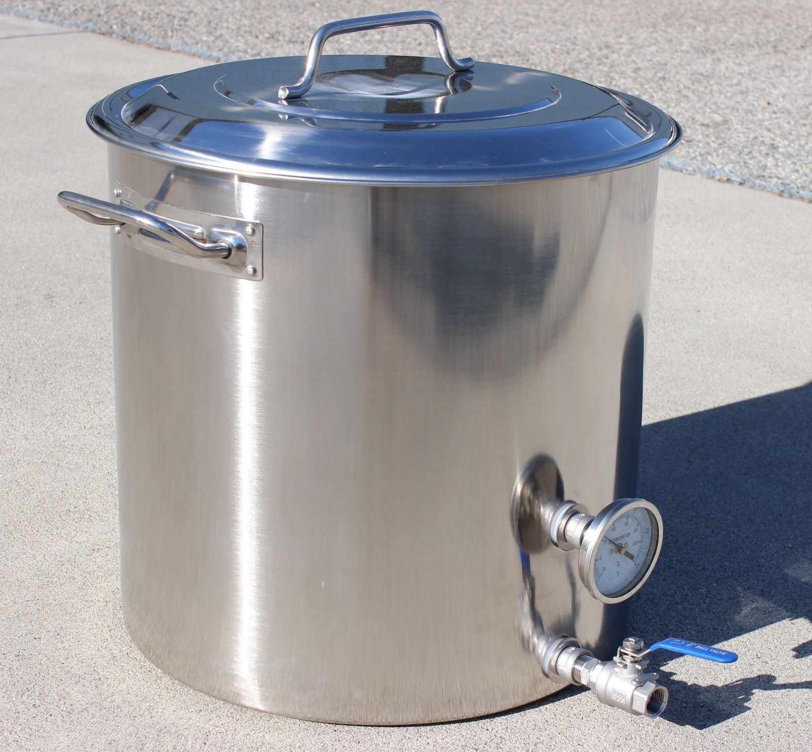 nice CONCORD Stainless Steel Home Brew Kettle Brewing