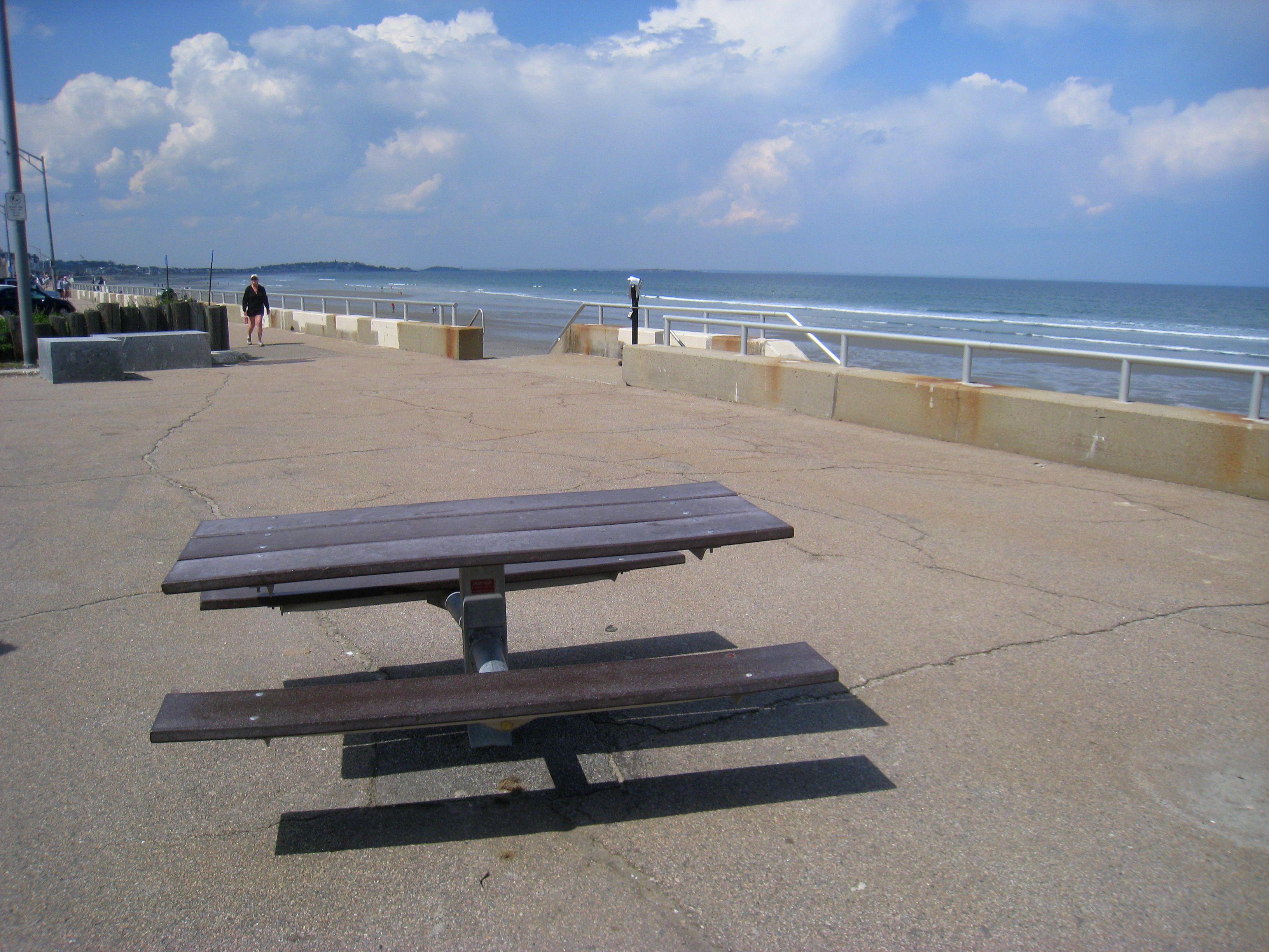 The Boardwalk At Nantasket Beach