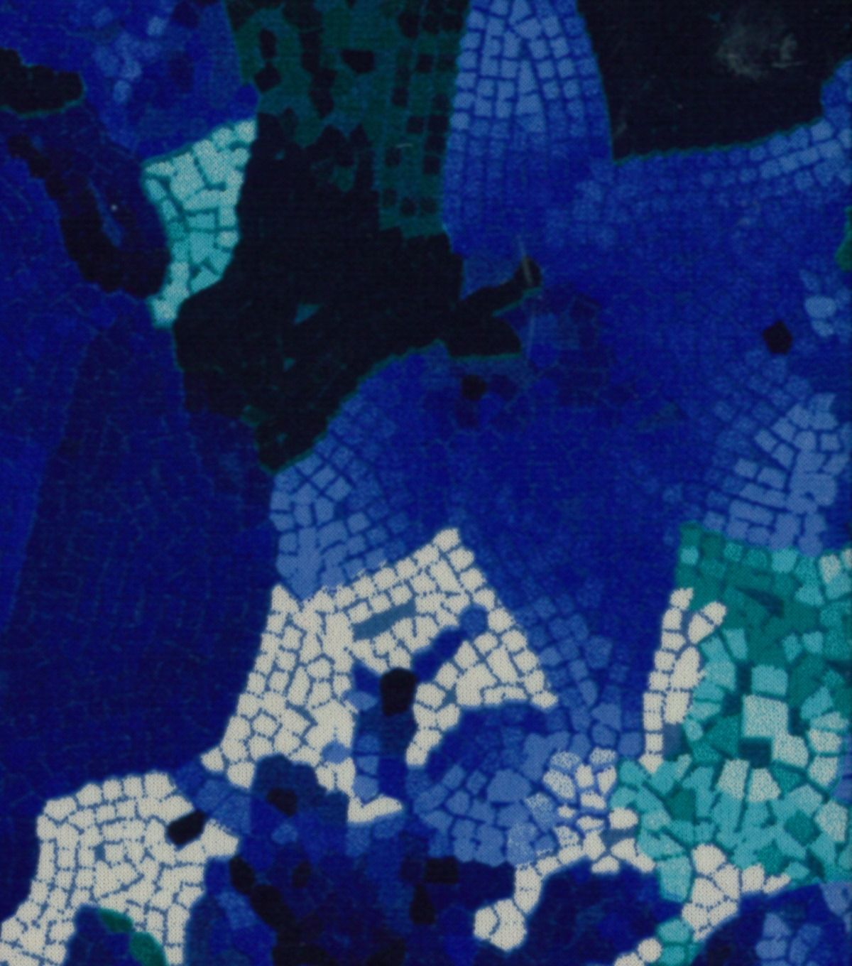 Azure Collection- Mosaic Tile Ity Knit FabricAzure Collection ...