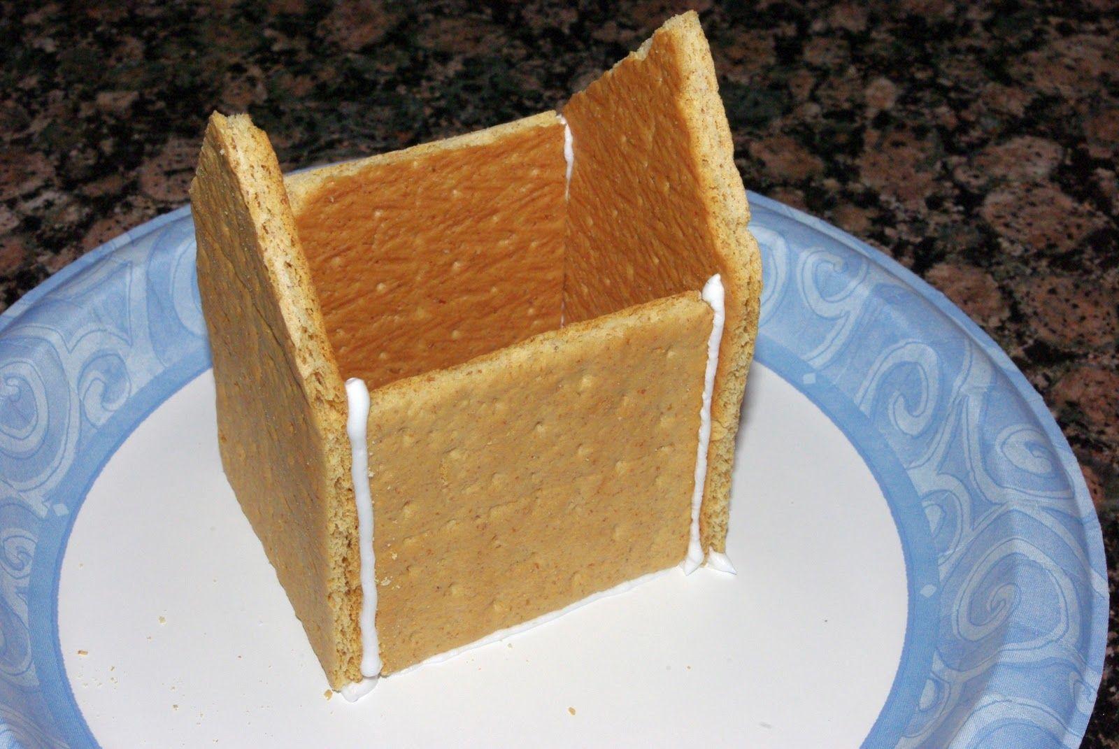 Graham Cracker Gingerbread Houses Tutorial Graham