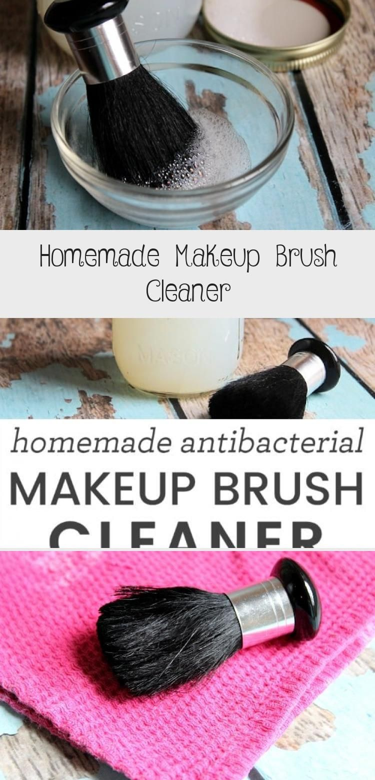Photo of Homemade Makeup Brush Cleaner – Beauty İdeas –  Did you know that dirty makeup …