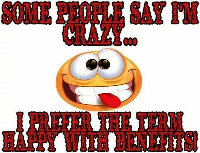 Happy with benefits
