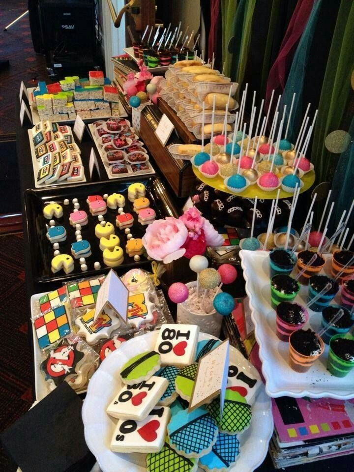 Too Much Work But Cute 90th Birthday Parties Theme 90s Party Themes
