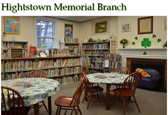 Take a look inside of our Hightstown Branch