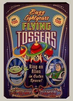 Image result for Buzz Lightyear Flying Tossers