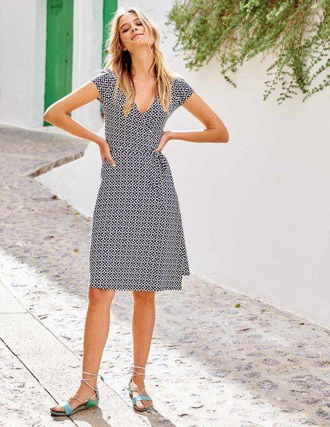 Summer Wrap Dress WW012 Day Dresses at Boden | Style | Pinterest ...