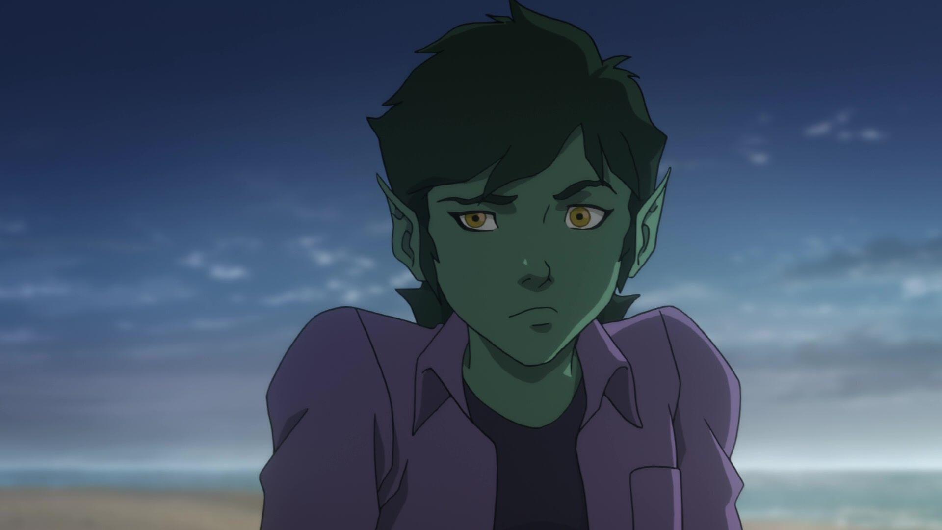 Teen Titans The Judas Contract - Beast Boy  Teen Titans-8652