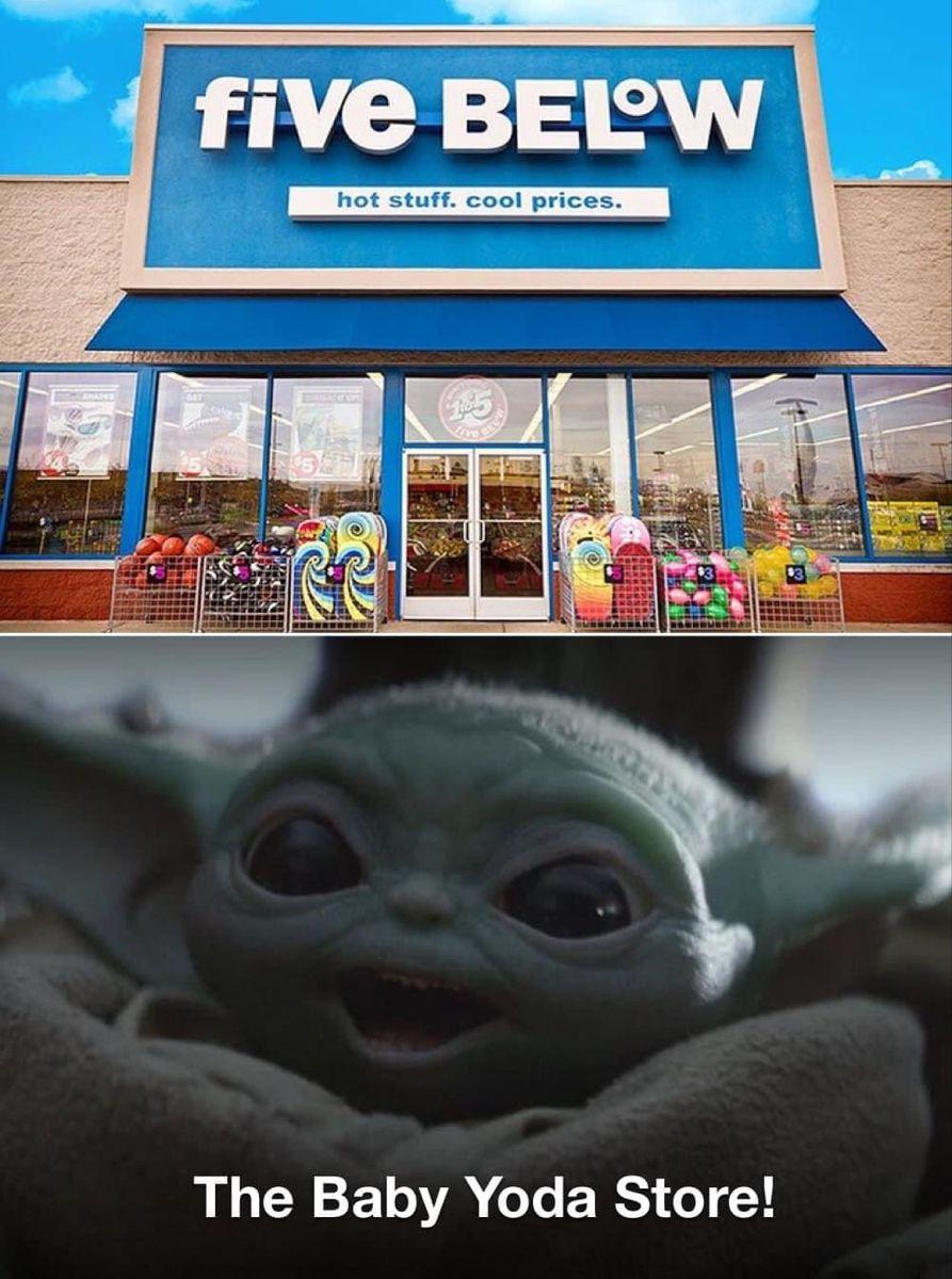 Baby Yoda In 2020 Yoda Baby Cool Stuff