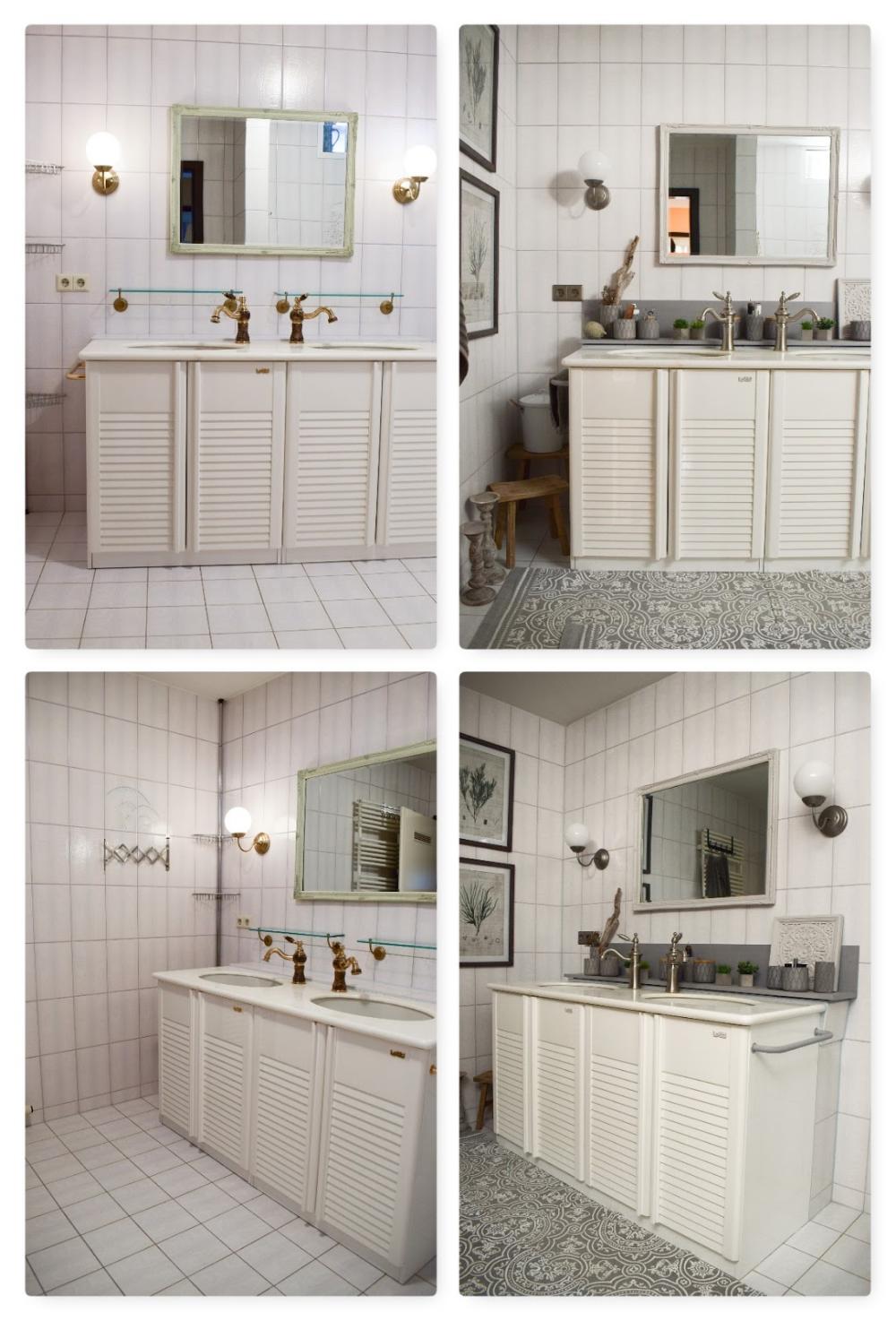 Badezimmer Ideen Deko Bad Renovierung Selber Machen Dekoideen Fur Ein Stilvolles Badezimmer Einrichten Aufwerten Badezimmer Alte Fliesen Duschvorhang Stangen
