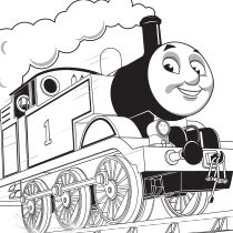 Coloring Page: Thomas | Party Ideas-Thomas the Train Engine ...
