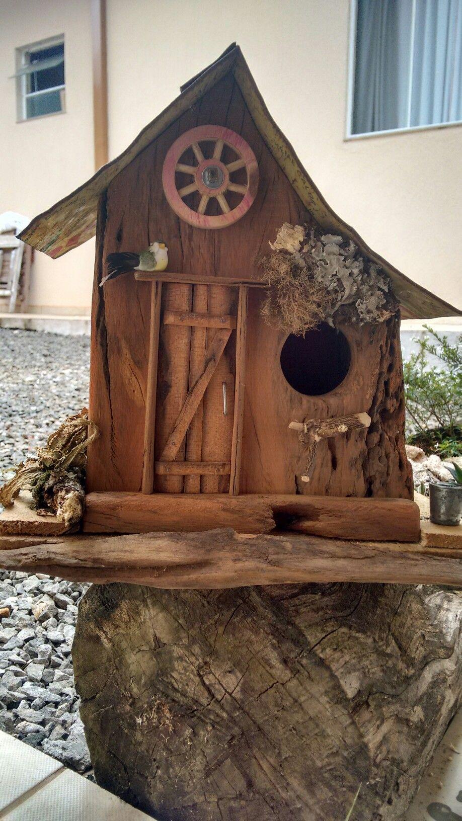 Pin By Possum Ridge On Trabalhos Do Joca Moura Bird House Bird House Feeder Birdhouses Rustic