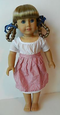 """American Girl 18/"""" Doll Kirsten Meet Outfit Accessories Hankie ONLY PC"""