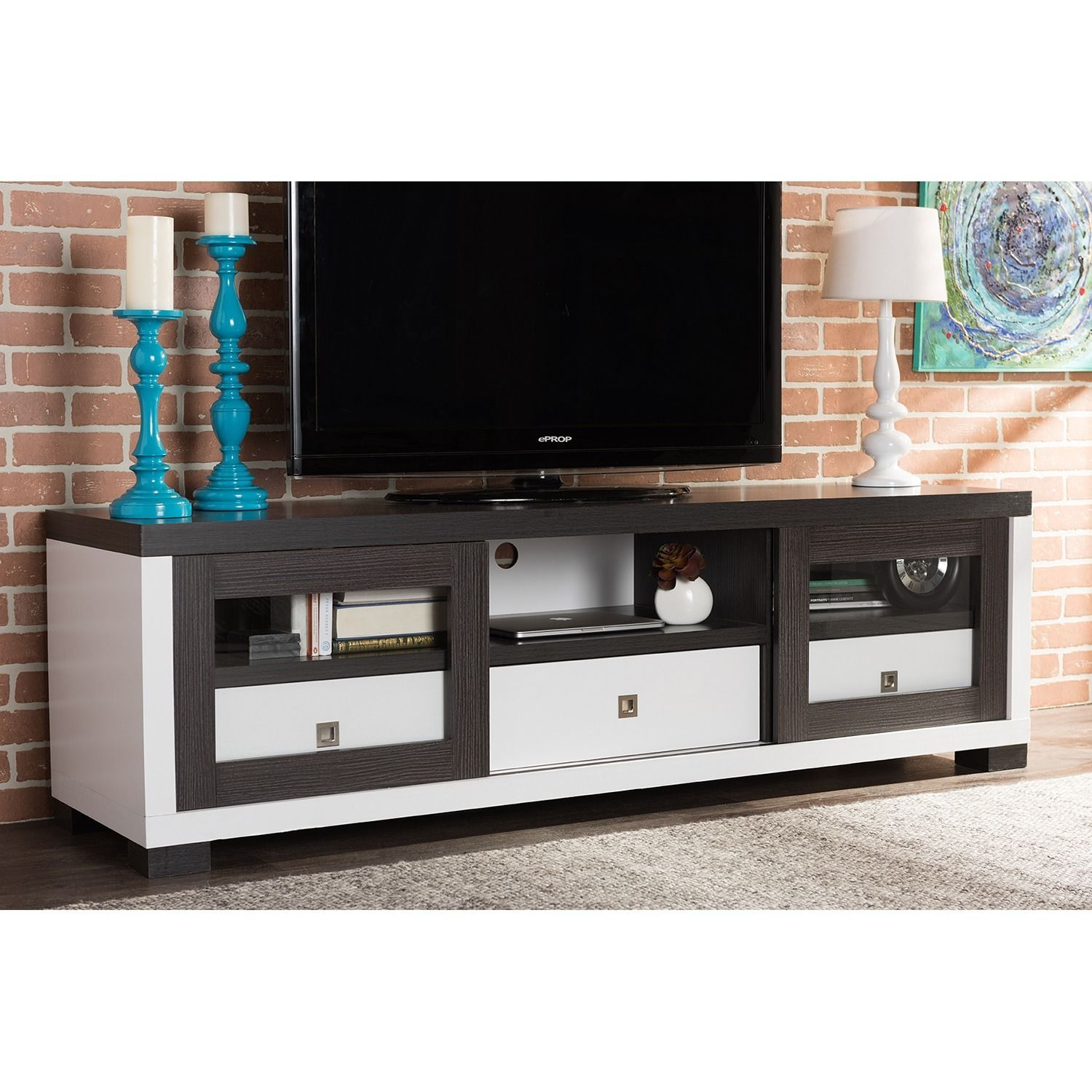 baxton studio oxley 70 inch modern and contemporary two tone white rh pinterest com