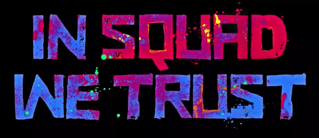 In Squad We Trust Typography Wallpaper Blocks High School Survival
