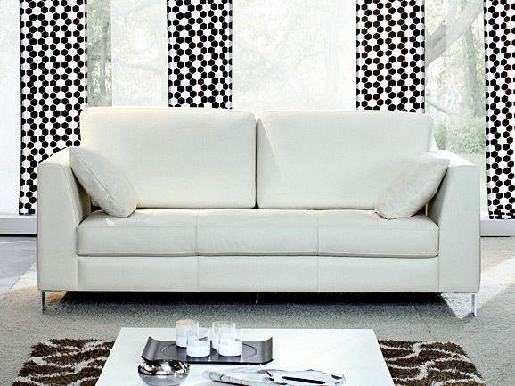 Divano classico a 2 posti in pelle bianca arredissima salotti e divani pinterest - Divano classico in pelle ...