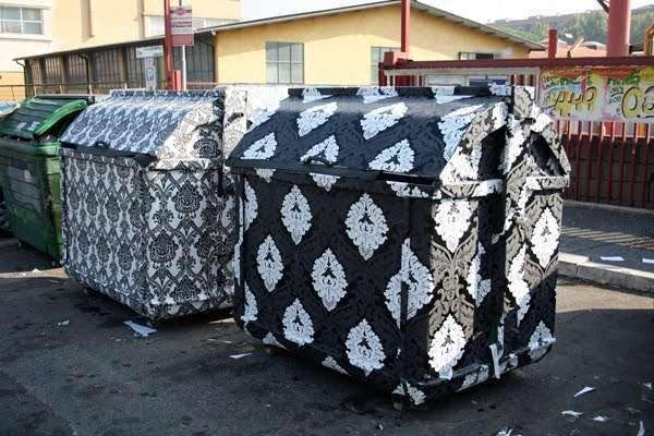 Decorative Dumpsters Dumpsters Street Art City Art