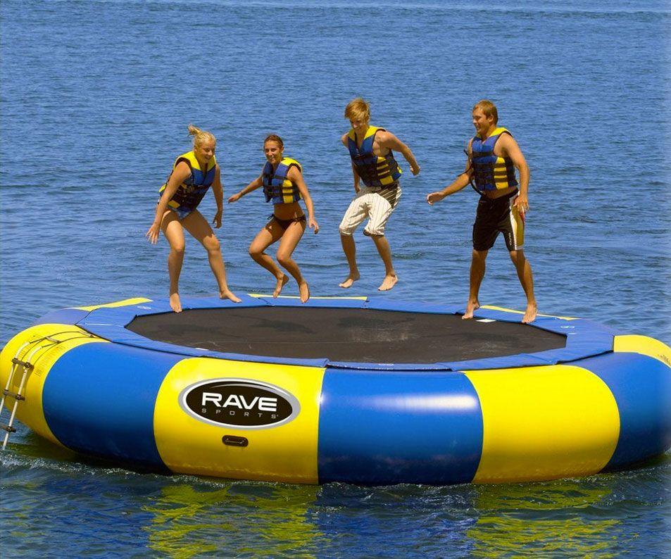 20 39 water trampoline flotadores flotadores de piscina y for Trampolines para piscinas