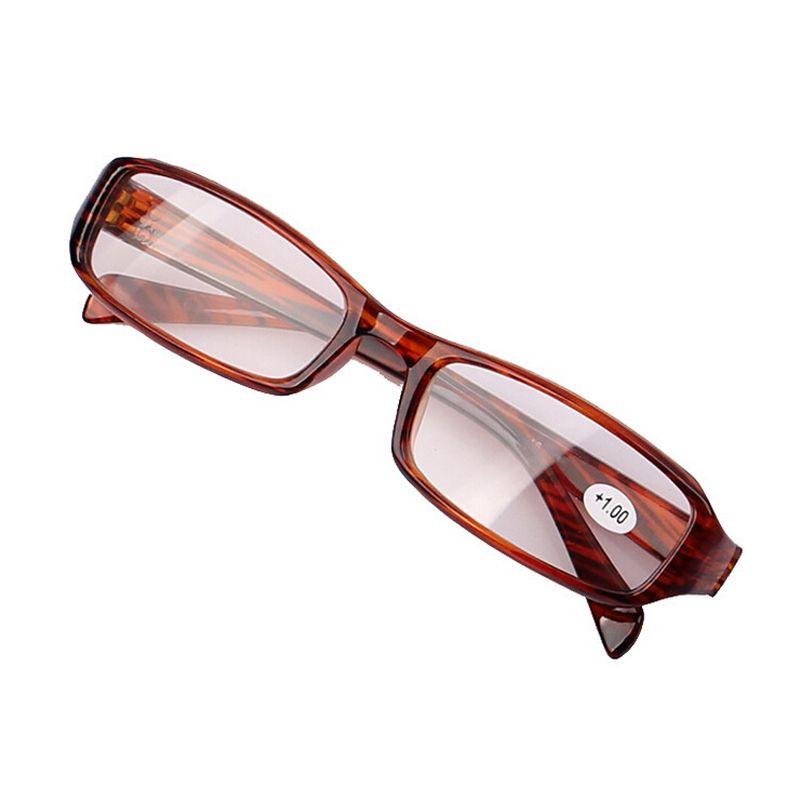 茶色老眼メガネocchialiダlettura + 1.00 + 1.50 + 2.00 + 2.50 + 3.00 + 3.50 + 4.00視度ポイント読み取るクリア老眼鏡