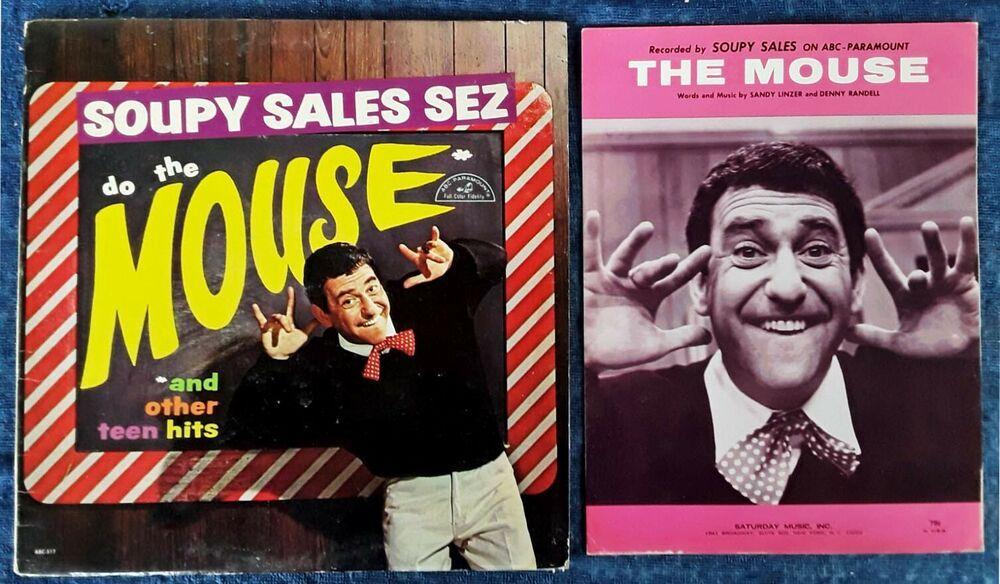 Details About Soupy Sales Do The Mouse Abc Paramount Lp Do