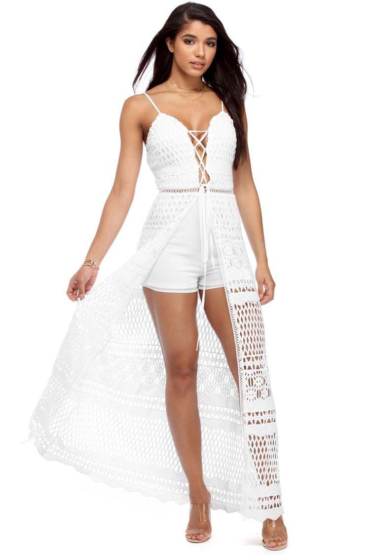 a88cee04b2e5 White Crochet Romance Shmaxi | WindsorCloud | Cute pieces | Pinterest