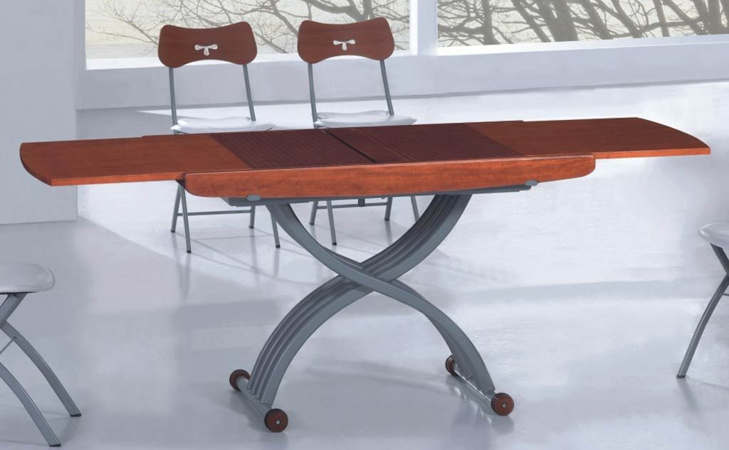 2110 Transformer Table Coffee Dining Home Furniture Modern Contemporary