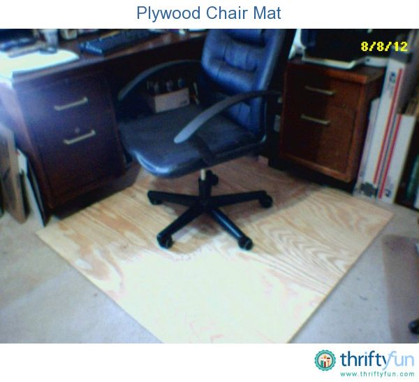 Replace Office Chair Mat With Plywood Office Chair Mat Chair