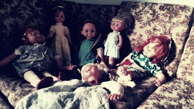 All dolls...