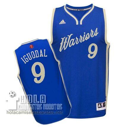 Camisetas Nba Baratas 2015 De Navidad Swingman Iguodala  9 Azul Golden  State Warriors €23.9 64da03cda2c07