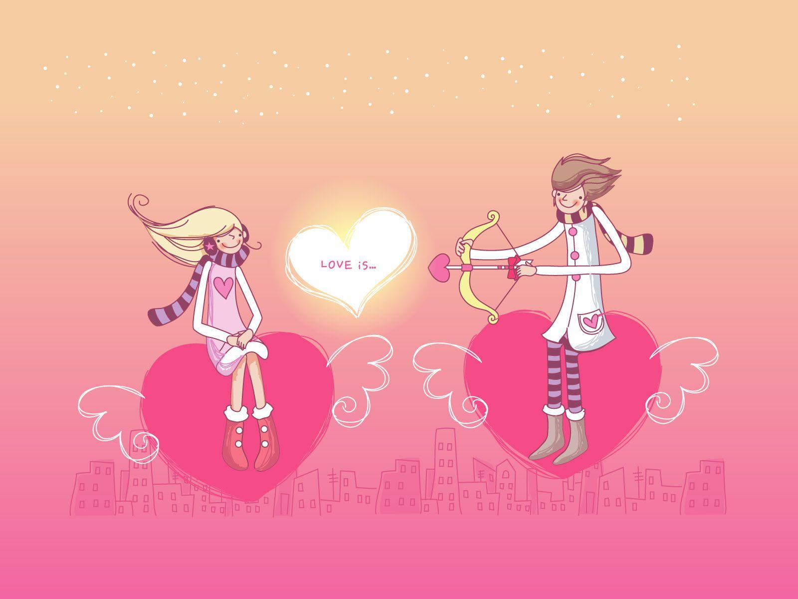 16 dibujos de amor para el Da de San Valentn 14 de Febrero