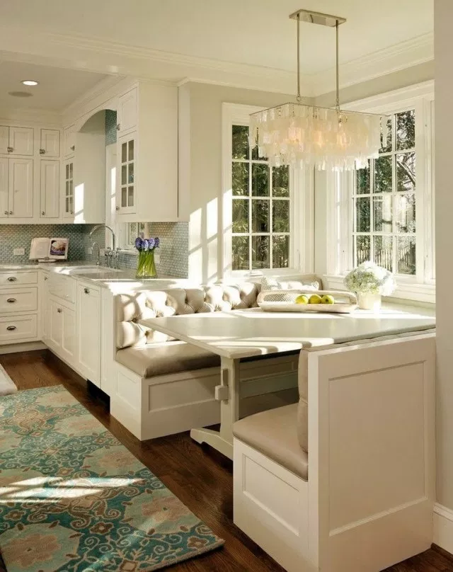 40 Wonderful Dining Room Booth Design Ideas Diningroom Diningroomdesign Diningroomdesign Country Kitchen Designs Building A Kitchen French Country Kitchens