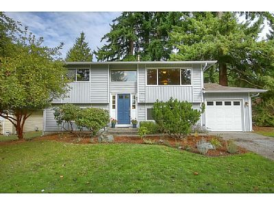 Home shows true pride of ownership and has been wonderfully updated. Open and spacious home with four bedrooms and two baths. Newer Bamboo floors, Maple kitchen cabinetry, and tiled floors. New refrigerator and brand new roof. Home has large backyard on a very quiet street. Close to shopping, dining, Award-Winning Lake Washington schools, 520, and Microsoft.