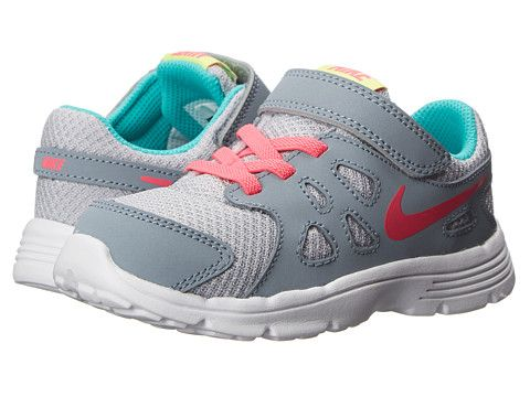 Nike Kids Revolution 2 (Infant/Toddler) Wolf Grey/Magnet Grey/Hyper. Girls  Nike ShoesKid ...