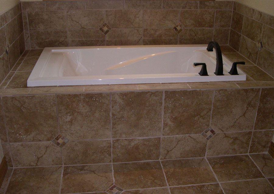 good tiled bathtub Part - 8: good tiled bathtub design ideas