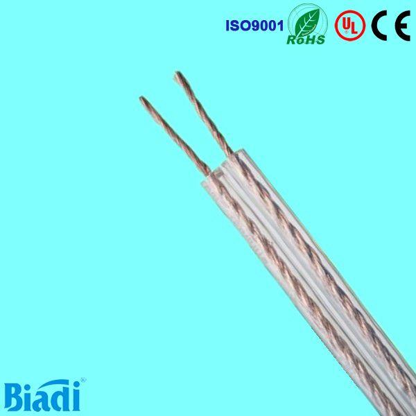 Transparent PVC UV resistant speaker wire www.biadicable.com ...