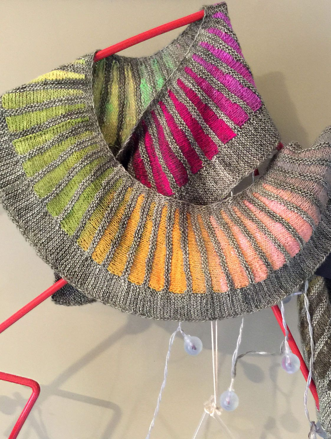 Knitting Pattern for Spectra Scarf by Stephen West - No designer is ...