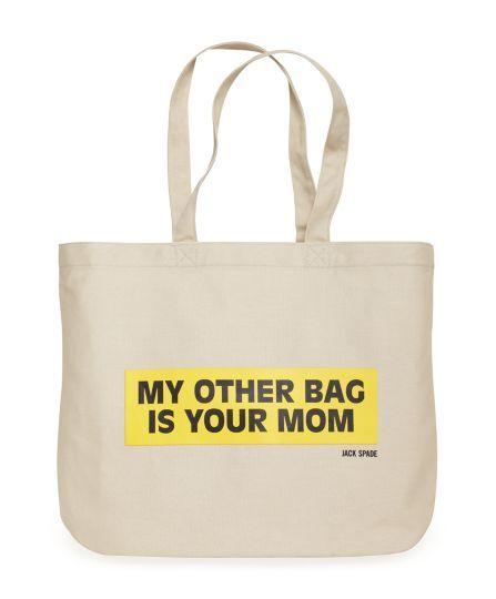 Jack Spade | Bumber Sticker Tote Bag