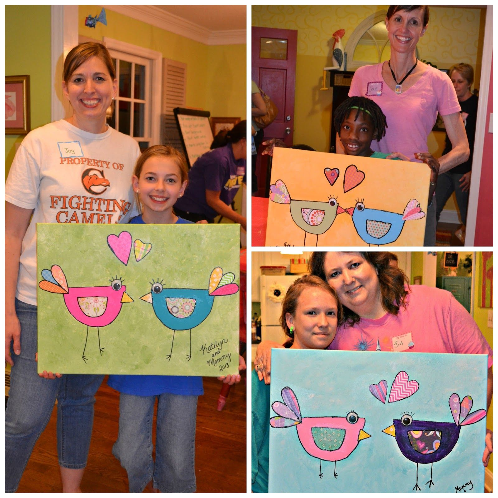The Intentional Home Mother/Daughter Craft Night. . .a
