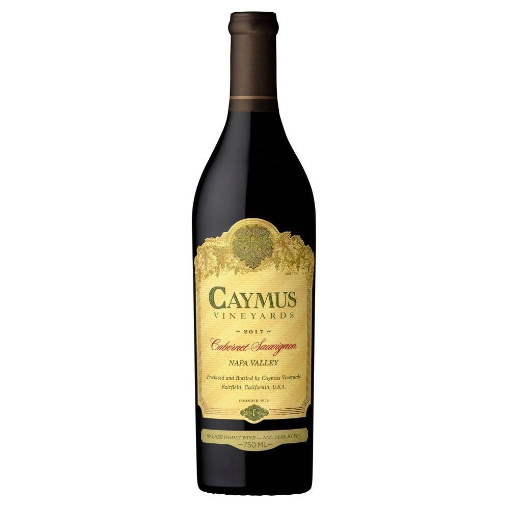 Caymus Vineyards Sauvignon Red Wine 750ml
