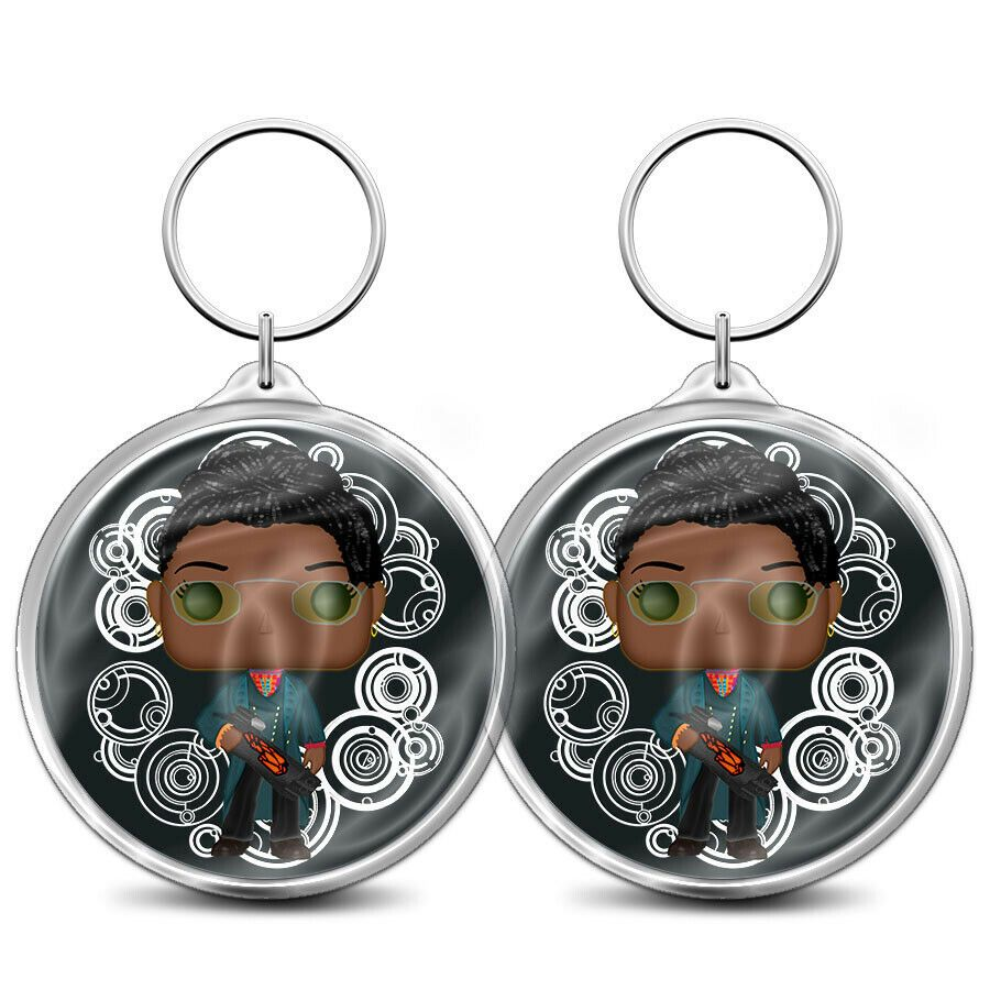 Details About Doctor Who Bag Charm Key Ring Key Fob Ruth Doctor In 2020 Doctor Who Bags