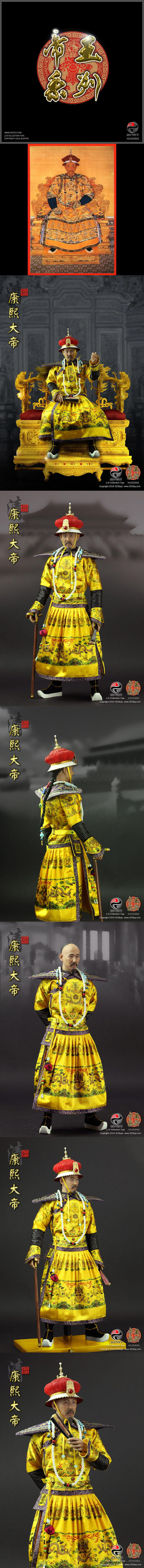 [303TOYS 1/6 No:ES3001 Series Of Emperors -Kangxi The Great]