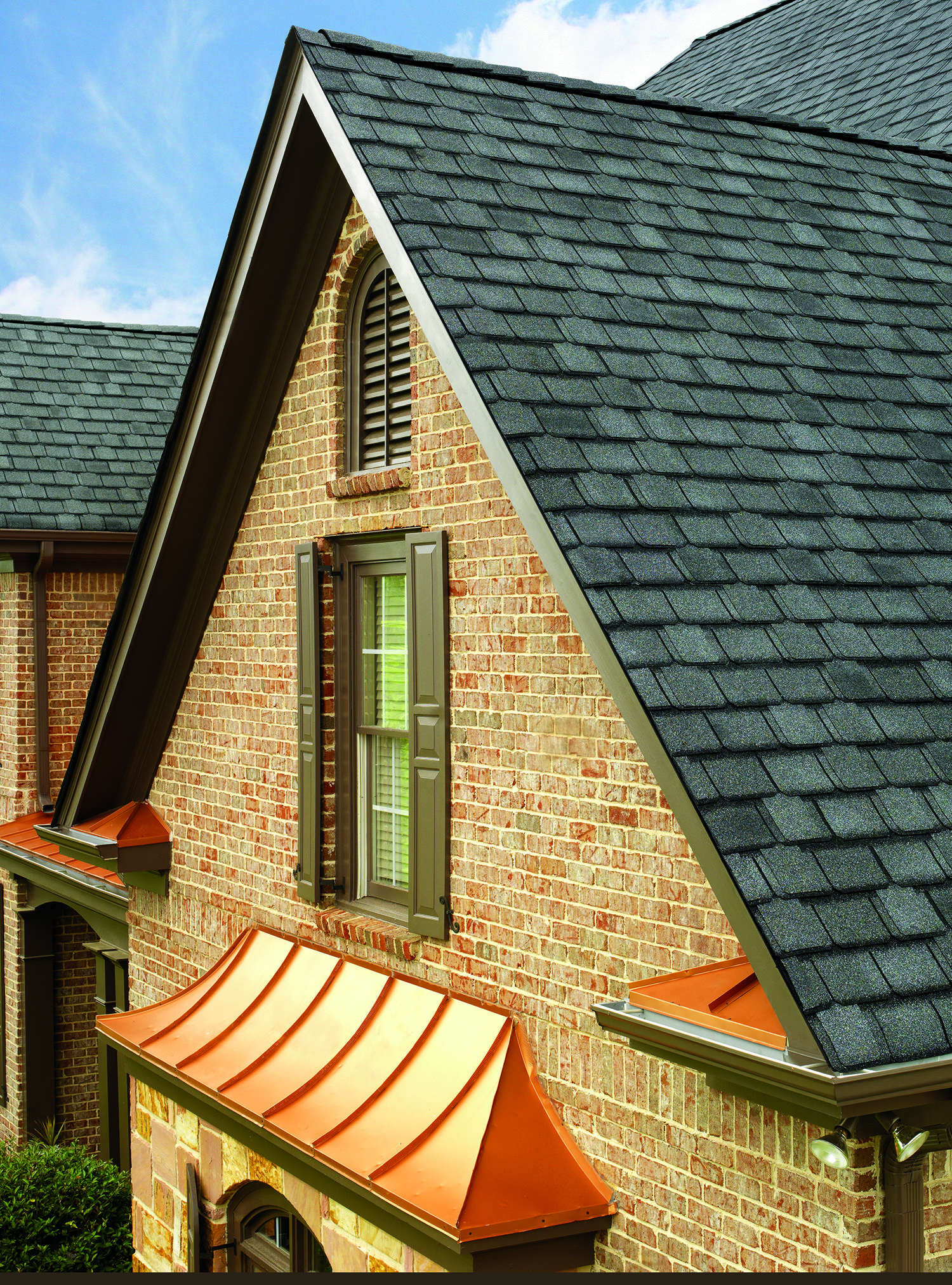 Best Gaf Camelot Ii Asphalt Roofing Shingle Shown In Antique 400 x 300