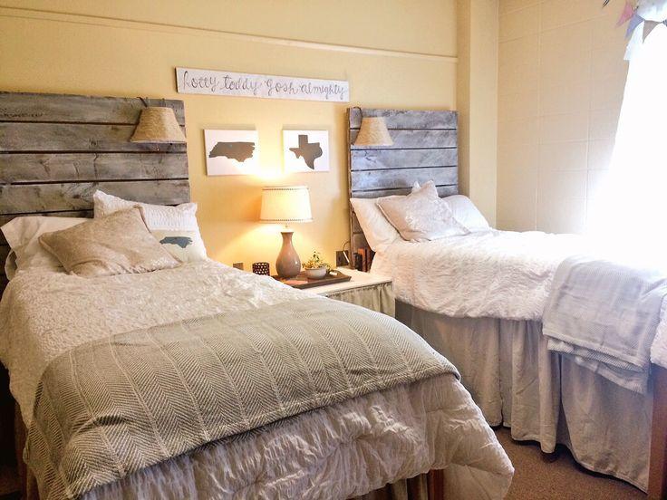 Image Result For Wood Dorm Headboard College Dorms