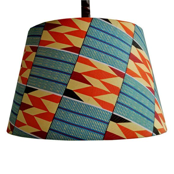 40cm Tapered Drum Lampshade Ready To Ship Housewarming Wedding Gift African Bohemian Lampshade Large Ceiling Pendant Tropical Paradise Handmade Lampshades Ceiling Pendant Lamp Shades