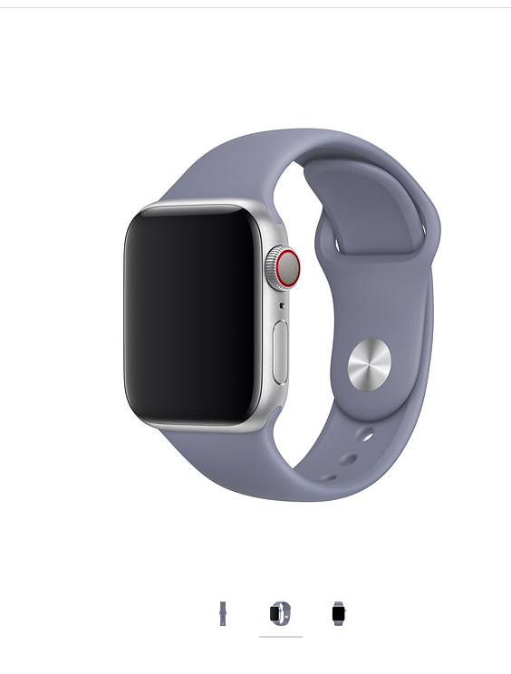 cf7b2625589 Lavender Grey Sport Band for Apple Watch (40mm)