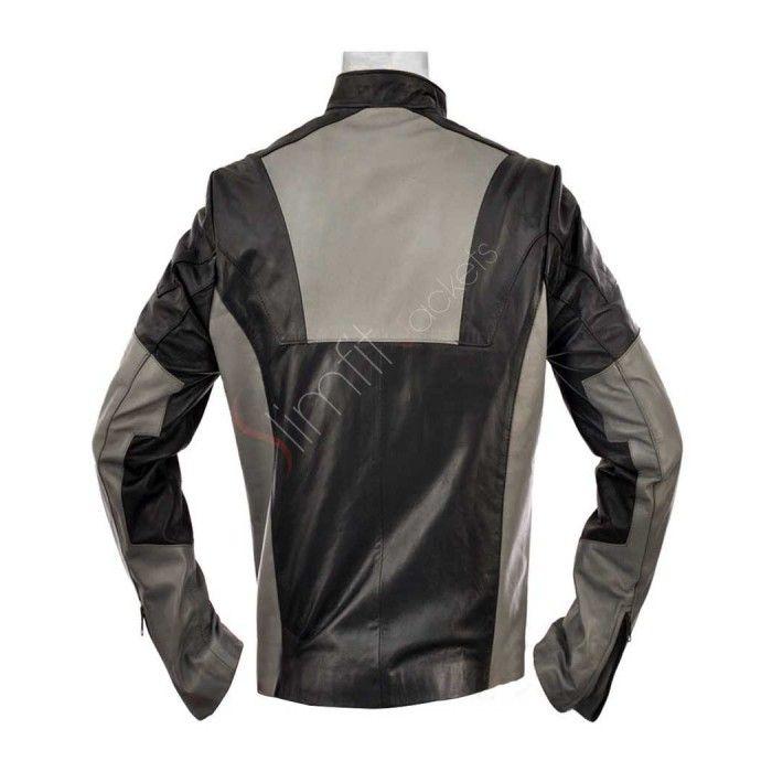 7576a61f1 Ironman 2 Tony Stark Leather Jacket