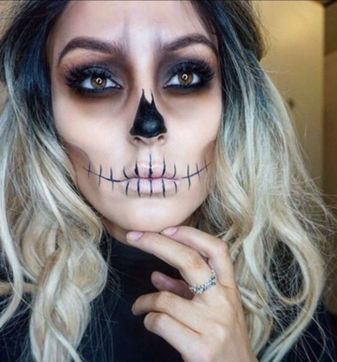 Halloween Make Up Anleitung Pin By Julja On Fasching Pinterest Halloween Halloween Makeup
