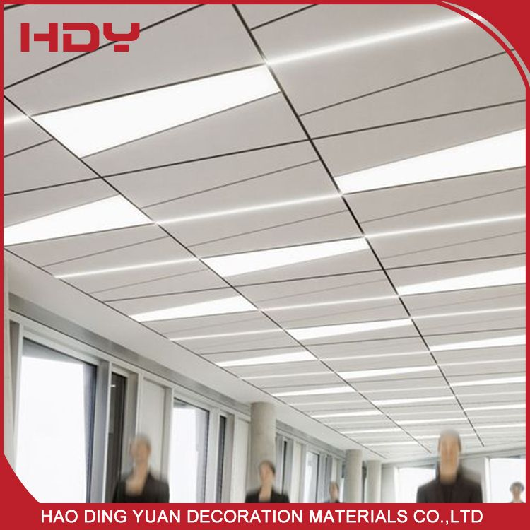 New Building Materials Aluminum Types Of Ceiling Board